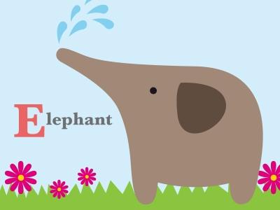 Elephant-Alphabet