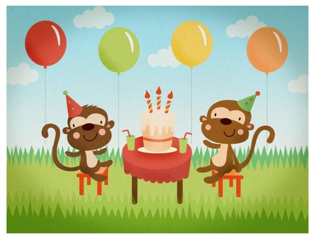 Monkey party...