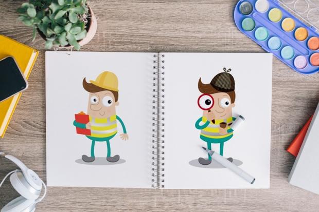 HiViz-Jack-Sketchbook